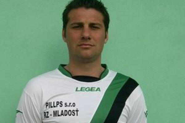 Miloš Krško sa na hrote útoku osvedčil. V zápase proti rezerve banskobystrickej Dukly zaznamenal hetrik.