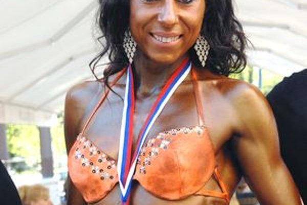 Medailistka Denisa Ballová.