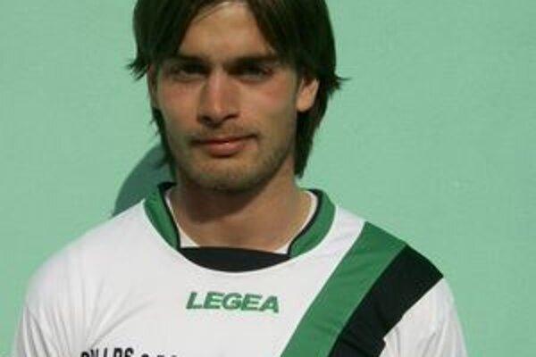 Radoslav Máč, autor jediného gólu stretnutia v Prešove.