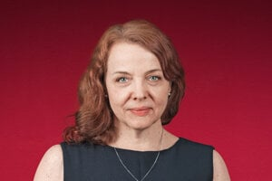 Beata Balogová, šefredaktorka denníka SME