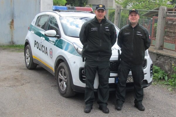 Kremnickí policajti.