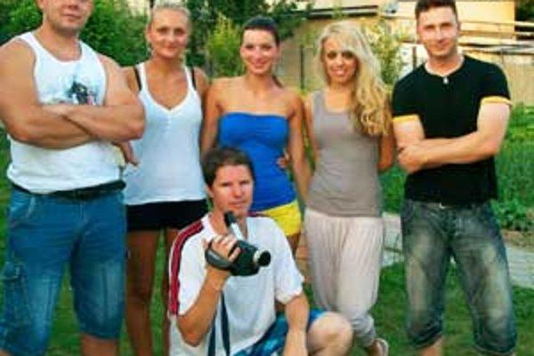 Haličskí filmári sa pri natáčaní sa dobre bavili.