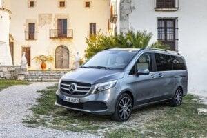Mercedes-Benz triedy V po facelifte