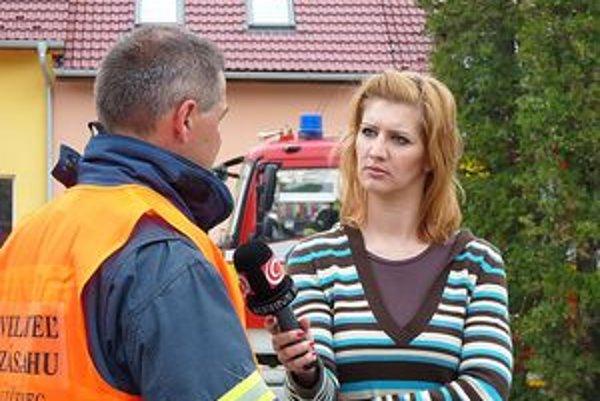 Edita Frantová-Hutková, redaktorka televízie JOJ.