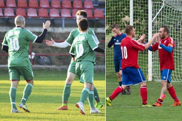 Dolné Obdokovce a Volkovce zhodne nastrieľali vonku päť gólov.
