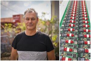 Vývojár Štefan Genšor a jeho chránené dátové úložisko, ktoré sa používa v eKasa pokladniciach.