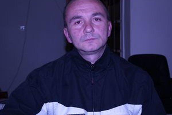Ľubomír Andrášik, viceprezident LAFC Lučenec.