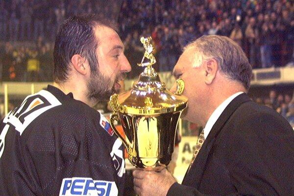Vlastimil Plavucha ako košický kapitán v roku 1998.