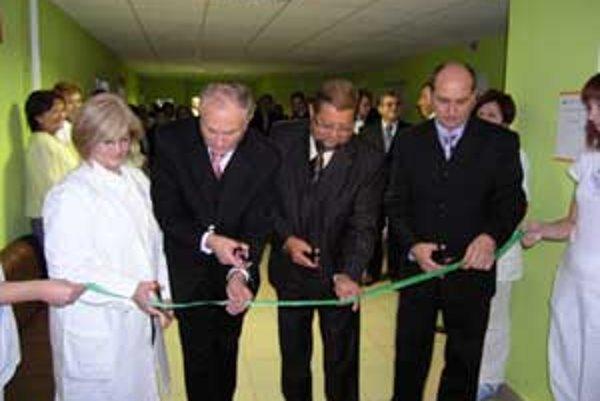 Nový priestor je maximálne dôstojný pre hematologických pacientov, darcov a laboratórne vyšetrovacie metódy.