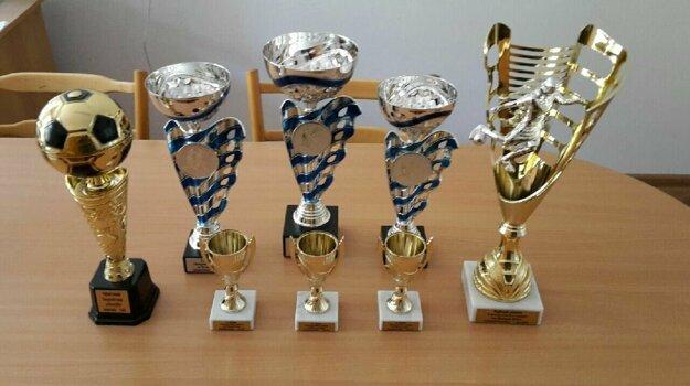Trofeje pre najlepších.