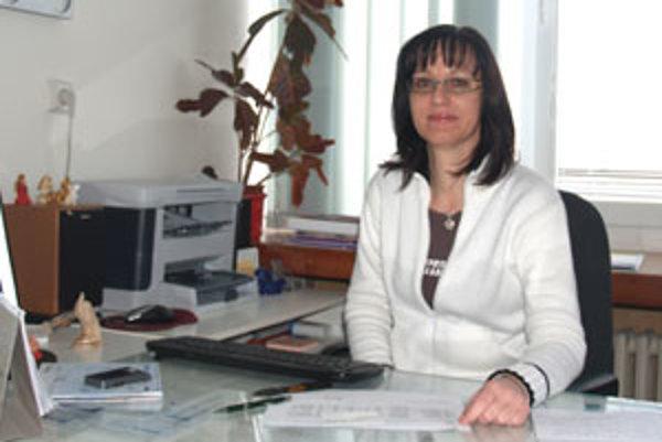 Psychiatrička Milota Farbiaková vedie už druhý rok A-klub vo Veľkom krtíši.