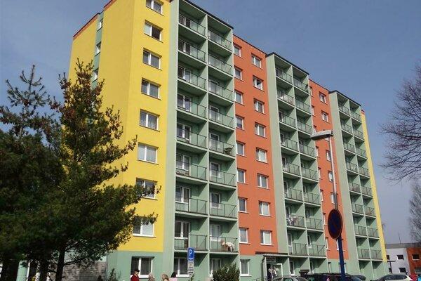 Zariadenie pre seniorov na Komenského ulici tiež patrí pod Centrum sociálnych služieb v Poprade.