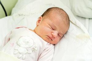 Diana Ďurčeková (3600 g, 52 cm) sa narodila 6. mája Veronike a Pavlovi z Trenčína.