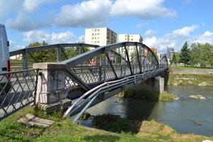 Takto vyzeral most po obnove v septembri 2017.