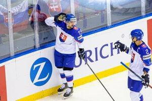 Libor Hudáček v zápase Slovensko - Francúzsko na MS v hokeji 2019.