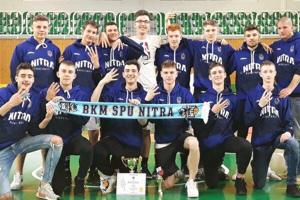 Basketbaloví kadeti BKM SPU Nitra.