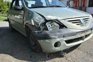 Vodičovi sa pri nehode nič nestalo.