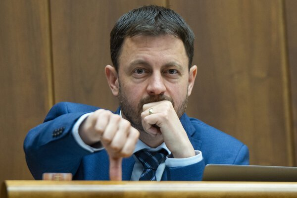 Eduard Heger, poslanec NR SR za OĽaNO.