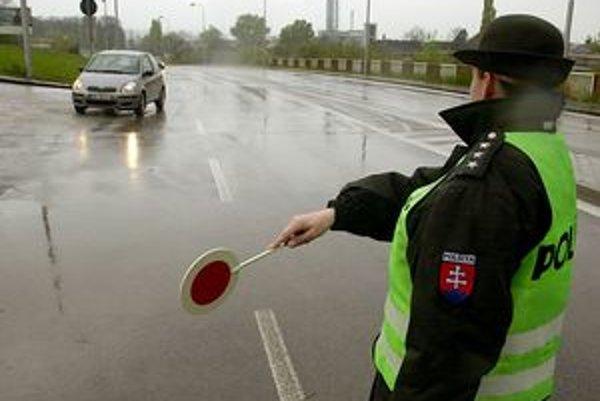 Zámerom polície nie je vyberanie blokových pokút, ale znížiť nehodovosť a úmrtnosť na cestách.