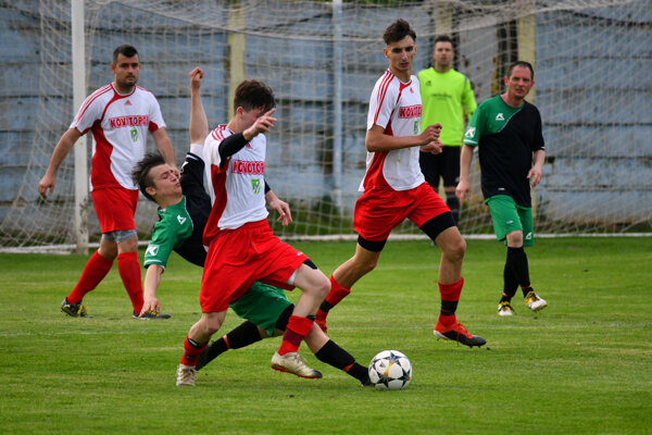 V zápase Ludanice - Nemčice sa zrodila remíza.