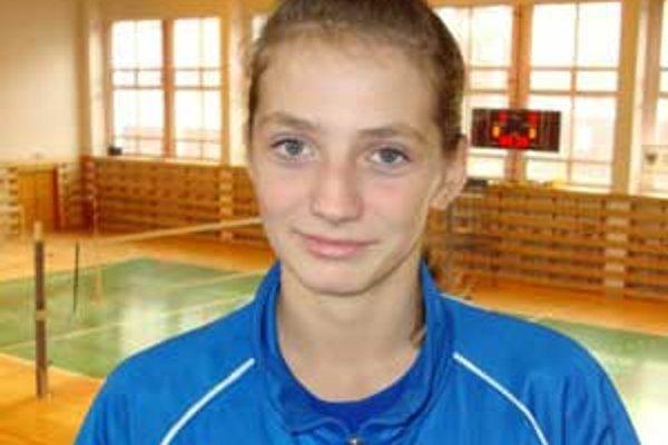 Štrnásťročná Štrbová debutovala teraz v druhej polovici septembra.