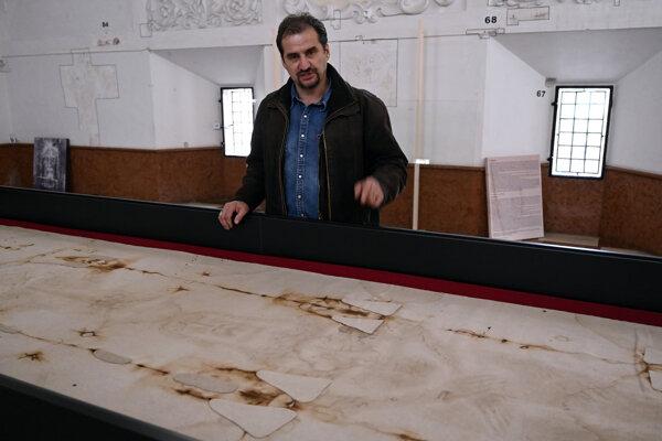 Kópia Turínskeho plátna v Bojniciach.