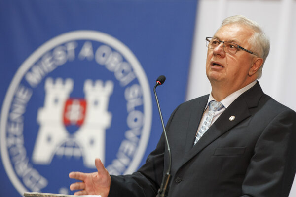 Predseda ZMOS Michal Sýkora.