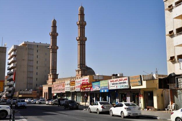 Mešita v centre mesta