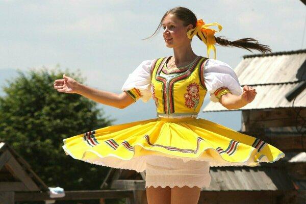 Folklórne slávnosti vo Východnej.