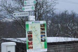 Na nových informačných tabuliach v Čerenčanoch sú označené ulice aj kultúrne pamiatky.