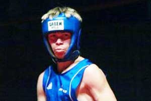 Úspešný mladý boxerista David Zold.