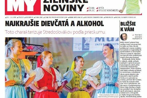 MY Žilinské noviny.