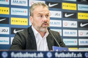 Tréner slovenskej futbalovej reprezentácie Pavel Hapal - ilustračná fotografia.