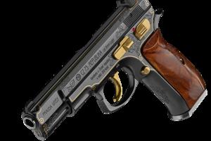 Pištoľ, ktorú vyrobila Česká zbrojovka.