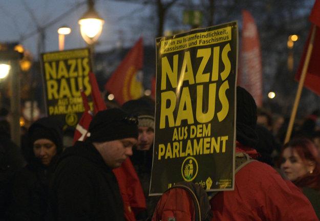Proti extrémizmu nedávno protestovali aj Rakúšania.