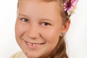 Talentovaná šiestačka Barbora Melichová.
