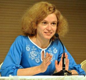 Tetiana Matyčak z organizácie StopFake.org.