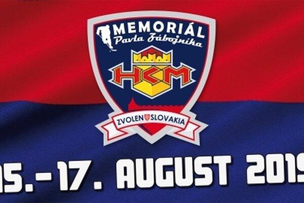 Memoriál Pavla Zábojníka sa uskutoční od 15. do 17. augusta 2019