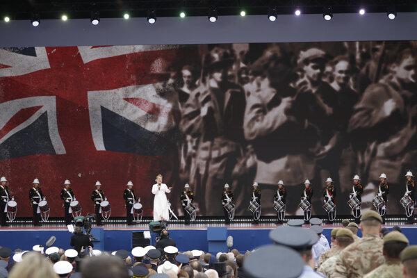 Oslavy vylodenia v Normandii v Británii.