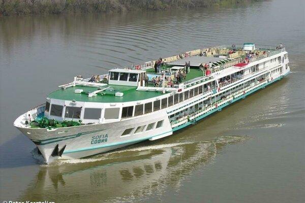 Pravdepodobný vinník - bulharská loď Sofia.