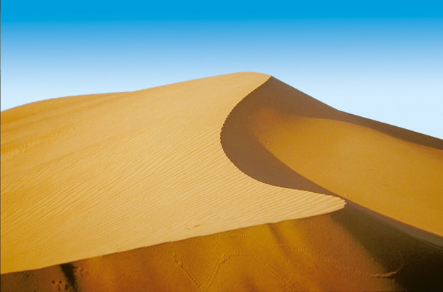 Púštne duny.