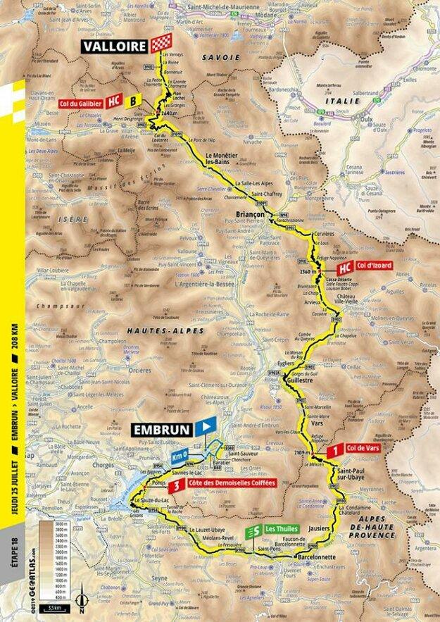 19. etapa Tour de France 2019.