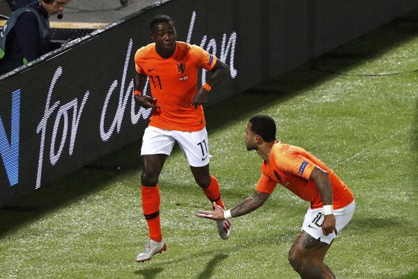 Futbalisti Holandska.