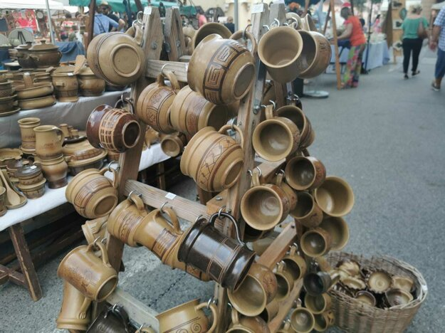 Tradičnú keramiku ste mohli nájsť na každom rohu