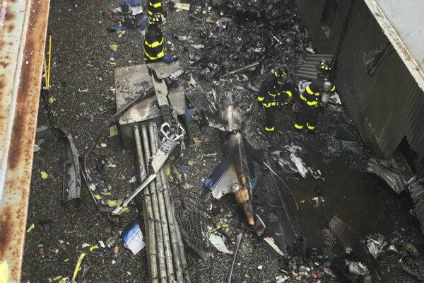 Pri havárii vypukol aj požiar.