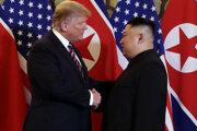 Trump a Kim.