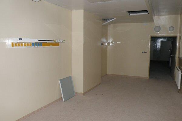 Operačné sály v bojnickej nemocnici už roky čakajú na dobudovanie.