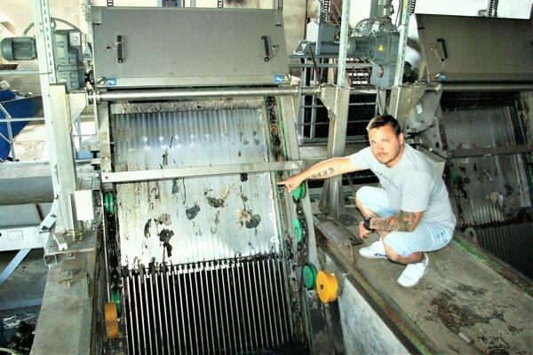 Čistiareň v Turvode vo Vrútkach pozachytáva všetky veci, ktoré do kanalizácie nepatria.