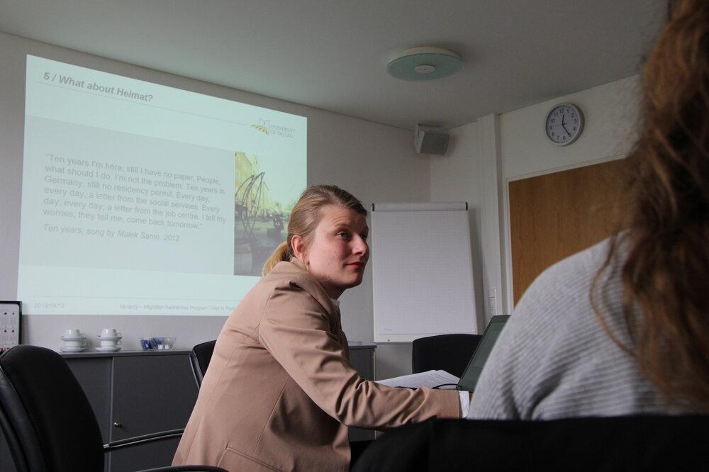 Christine Eggerová skúmala špecifiká migrácie v Pasove.