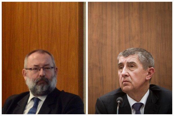 Maroš Kondrót (vľavo), poslanec Smeru a bývalý spolupracovník Andreja Babiša (vpravo) z podniku Petrimex.
